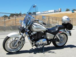 1997 Honda Shadow ACE 1100 by Partywave