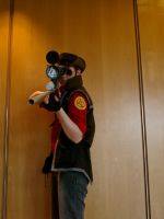 TF2 RED Sniper Cosplay :~I see you~: by DrunkenFangschrecke