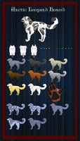 Arctic Leopard Hound: Breed Sheet by SpiffyInu