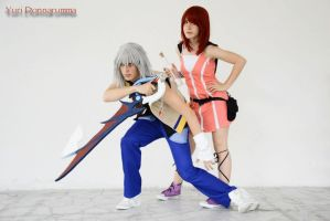 Kingdom Hearts II Riku And Kairi BY The SC Cosplay by theSCcosplay