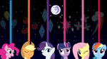 MLP Elemental Night Wallpaper by Ivan2294