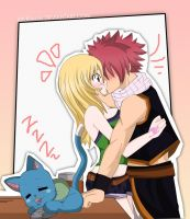 (Fairy Tail) Chuuuuu~ Nalu by xBebiiAnn