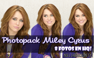 Photopack Miley Cyrus #001 by NoeliaEdicionesYT