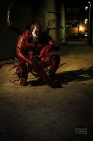 NEW MAXIMUM CARNAGE COSPLAY by symbiote-x