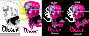 DRIVE Poster Full Process by RADMANRB