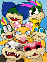 Koopalings by beyx