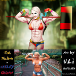Harley Quinn Tish Shelton By Ulics On Patreon by zenx007