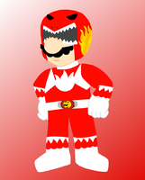 Super Morphin Power Rangers- Red Ranger Mario by AceOfSpades95