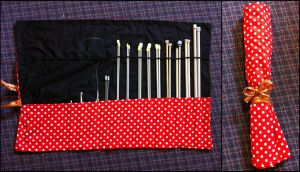 Knitting Needle Case by TombRaiderKuchen