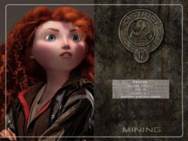 Merida in Hunger Games by Fate221