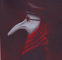 Plague Doctor Profile by evilseedlet