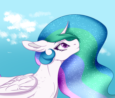Celestia by DespotShy