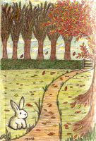 Autumn Bunny by BeckyBumble