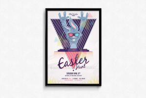 Easter Poster by snkdesigns