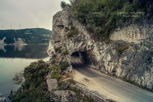 Road along the Danube by Piroshki-Photography