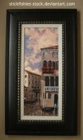 Framed Painting 1 by Stickfishies-Stock