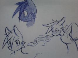 CLG Pen Sketches by goldflygon