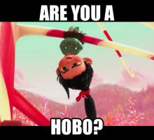 Hobo? by dinochickrox