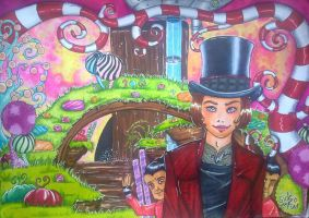 Willy Wonka Wonderland by ZombieCherry13