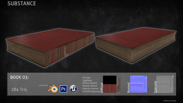 SUBSTANCE Prop: Book by shcadeYuVE