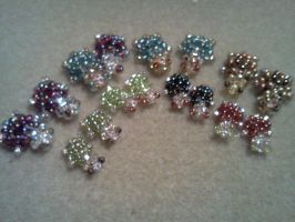 Seed Bead Turtles by Spaz-Twitch11-15-10