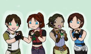 Redfield's Girls by Kazeninoru