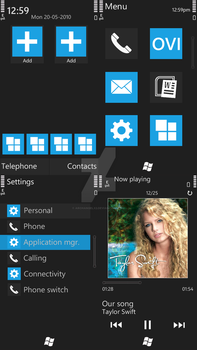 UberWP7 - WP7 Theme on S60v5 by ArchangelX2