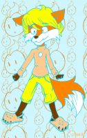 FFF: Orange Sticker by thetani