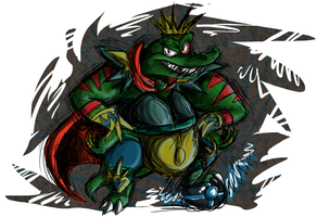 King K. Rool Strikers Charged by Ribbedebie