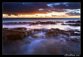 Dawn Flows From the Rocks by aFeinPhoto-com