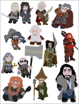 13 Dwarves by CommanderBLinn