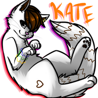 Kate mini art trade by MistyMochi