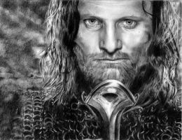 Aragorn, Son of Arathorn by friedChicken365