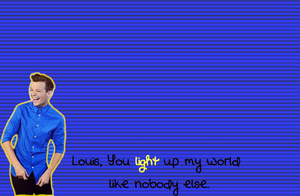 Light Up My World Wallpaper by iluvlouis