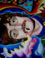 Psychedelic Lennon by SoftMachine09