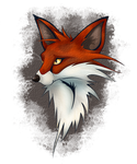 Fox Icon 2 by Dragon-flame13