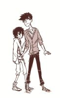 Tadashi, Come on. by arrival-layne