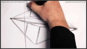 How to draw two point perspective 009 by drawingcourse