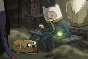 Fallout Adventure Time by DeathInkNG