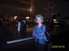 my mum after the concert by mayq5