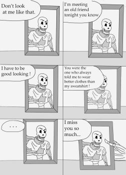 Undertale - Getting Prepared (Page 1) by Syanas