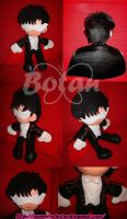 Tuxedo Kamen plush version by Momoiro-Botan