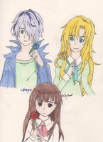Ib - Blue, Red and Yellow by SwiftNinja91