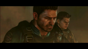 resident evil 6 screenshot of chris's campaign by lokifan20