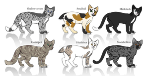 Warrior Cat Adoptables CLOSED by FeatherySpirit