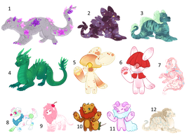 Leftover Adopts Sale by TlgerTears