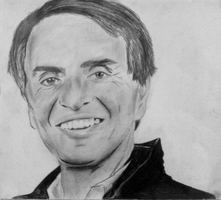 Carl Sagan by sashin9001