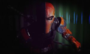 Deathstroke close up first blood by zosco