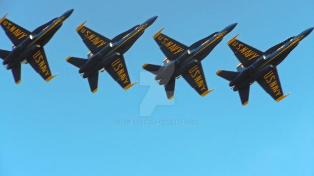 Blue Angels by bloodyban