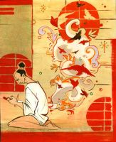 Japanese Mythology by brainleakage